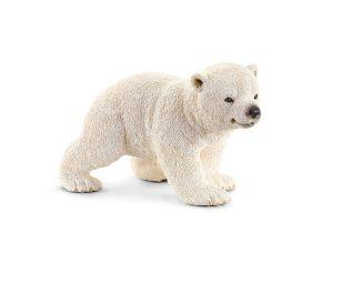 Cucciolo di orso polare che cammina.