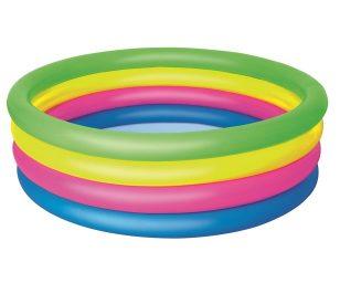 Piscina rotonda a 4 anelli color cm 157x46.