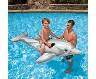 Cavalcabile delfino 201 x 76 cm - Intex 58539