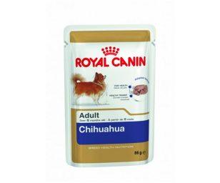 Morbido patè per cani adulti e maturi oltre 8 mesi di età royal canin chihuahua. Alta qualità ed appetibilità