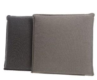 Cuscini quadrati grigio cm 42x42x5h.