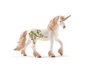 Unicorno in piedi.