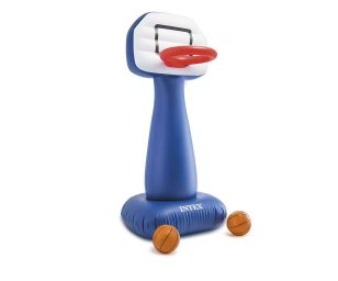 Gioco basket gonfiabile cm 104x97x208h.