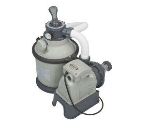 La pompa a sabbia è la soluzione perfetta che ottimizza costi e tempi di pulizia dell'acqua della piscina. Il filtro è dotato di una valvola a 6 funzioni: filtrazione