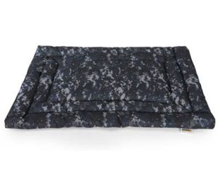 Cuscino rettangolare digital blue camouflage cm 100x70.