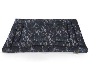 Cuscino rettangolare digital blue camouflage cm 120x75.