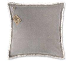 Cuscino grigio cm 45x45.