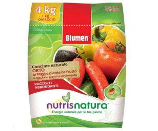 Concime organico minerale a lenta cessione naturale in pellet