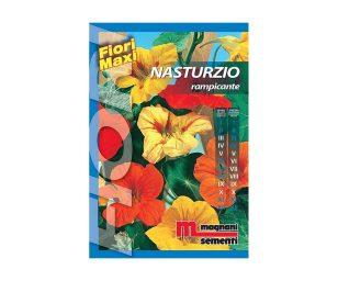 Nasturzio rampicante è una pianta di facile coltivazione che si adatta ad ogni tipo di terreno.
