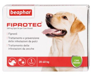 Fiprotec è la soluzione Spot On a base di fipronil