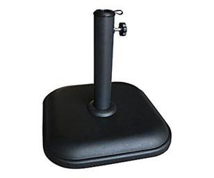 Base ombrellone nero 11 kg.