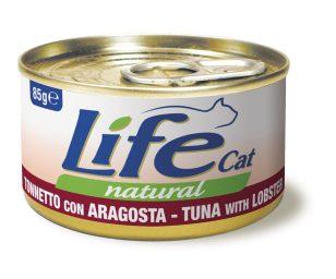 Life pet cat tonno con aragosta 85 g.