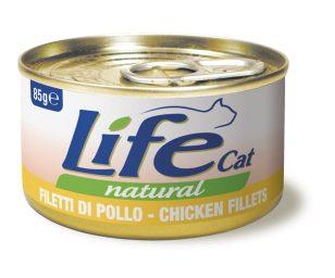 Life pet cat pollo 85 g.
