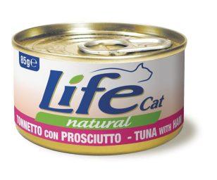 Life pet cat tonno con prosciutto di pollo 85 g