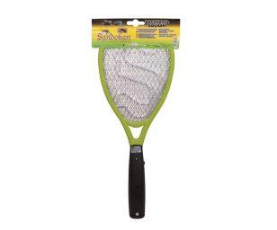Racchetta elettrica squash abbatti zanzare mosche insetti.