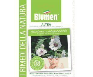 L' althea era una nota pianta medicinale. Ha proprietà calmanti emollienti