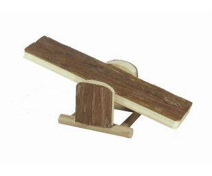 Saliscendi legno naturale cm 21