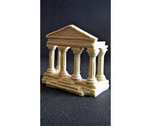 Tempio a sei colonne.