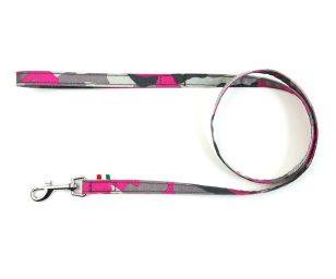 Guinzaglio mimetico rosa cm 110x1