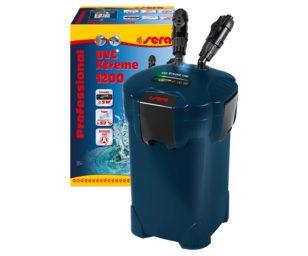Filtri esterni controllabili elettronicamente per acquari fino a 1.200 litri