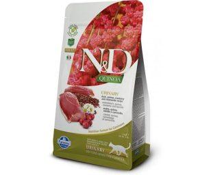 N&D Quinoa è l'innovativa linea di alimenti funzionali nata per supportare il benessere di gatti con specifiche esigenze nutrizionali.