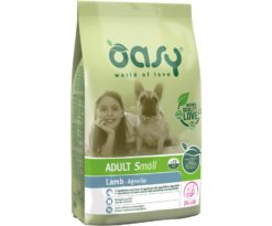 Oasy dry dog adult small agnello 1 kg.
