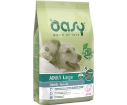 Oasy dry dog adult large agnello 12 kg.