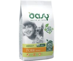 Oasy dry dog one adult mini maiale 2