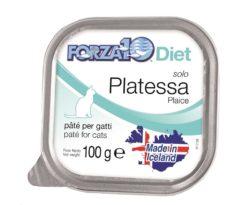 Forza10 solo diet platessa è una dieta monoproteica al pesce della linea dietetica studiata da sanypet per la riduzione delle allergie e delle intolleranze alimentari.