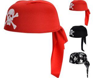Cappello tondo pirata assortiti.
