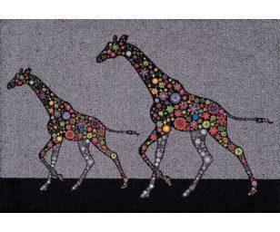 Tappeto clean keeper giraffe cm 50x70.
