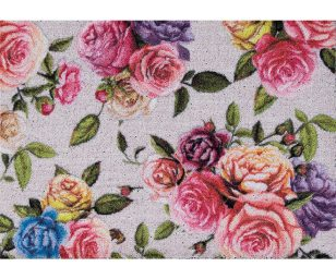 Tappeto clean keeper rose colorate cm 50x70.
