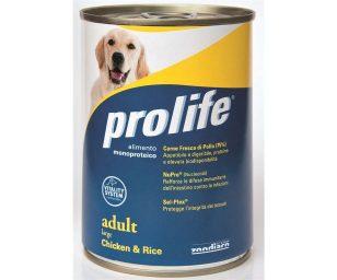 Prolife dog adult large chicken & rice 800 g.