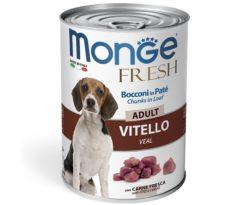 Alimento completo e bilanciato per cani adulti. L'aggiunta di carne fresca di vitello garantisce l'alta digeribilità oltre all'alto valore biologico della ricetta.