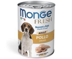 Alimento completo e bilanciato per cani adulti. L'aggiunta di carne fresca di pollo garantisce l'alta digeribilità oltre all'alto valore biologico della ricetta.