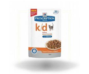 Hills cat k/d salmone 85 g.