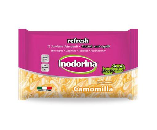 Inodorina refresh camomilla 15 pz.