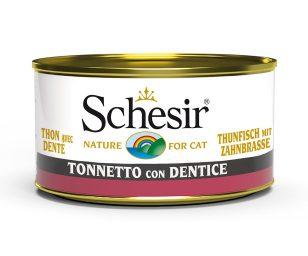 Schesir tonno dentice 85 g.