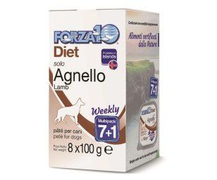 Forza 10 solo diet agnello 7+1 800 g.
