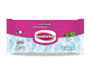 Inodorina refresh talco 100 pz.