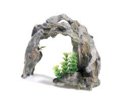 Arco con piante cm 24x9x18h.