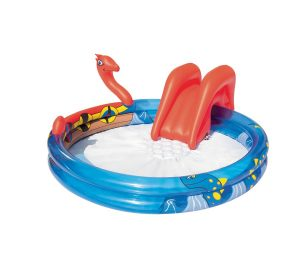 Play Center vichingo gonfiabile per bambini.