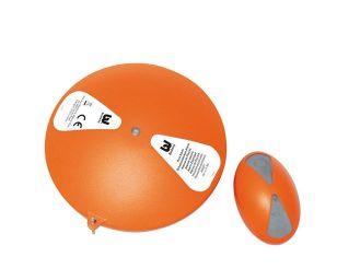 Sistema di allarme per piscina in due pezzi: posizionato nella piscina