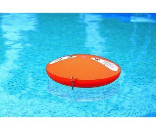 l'allarme di superficie rileva eventuali spostamenti d'acqua ed invia il segnale al ricevitore