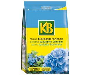 Concime Azzurrante per Ortensie e piante acidofile in formulazione solubile per una pronta assimilazione degli elementi nutritivi.