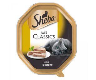 Sheba patè classic con tacchino 85 g.
