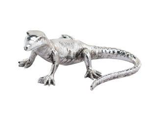 Geco argento cm 9x16x6.