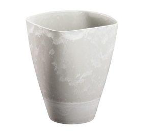 Vaso bianco cm 16x9
