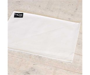 Tovaglietta cm 33x48 bianco.