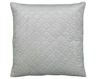 Cuscino reza cm 45x45 grigio chiaro.
